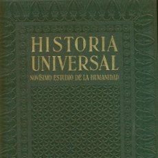 Libros antiguos: HISTORIA UNIVERSAL. NOVÍSIMO ESTUDIO DE LA HUMANIDAD. INSTITUTO GALLACH TOMOS I, IV Y V. Lote 94738446