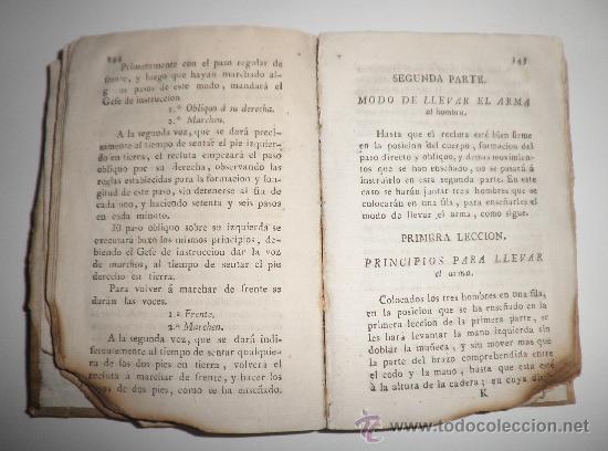 Libros antiguos: PRONTUARIO DEL CABO Y SARGENTO DE INFANTERIA DEL EXERCITO - AÑO 1813 - LAMINA GRABADA·PERGAMINO. - Foto 4 - 33768496