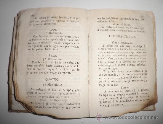 Libros antiguos: PRONTUARIO DEL CABO Y SARGENTO DE INFANTERIA DEL EXERCITO - AÑO 1813 - LAMINA GRABADA·PERGAMINO. - Foto 5 - 33768496