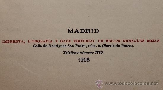 Libros antiguos: HISTORIA DE LA REGENCIA DE Dª Mª CRSTINA HABSBOURG-LORENA - F. G. ROJAS EDITOR, MADRID 1906 - Foto 4 - 33841629