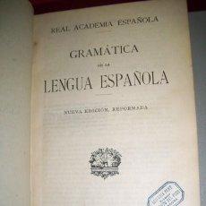 Libros antiguos: REAL ACADEMIA ESPAÑOLA - GRAMÁTICA DE LA LENGUA ESPAÑOLA. Lote 34036979