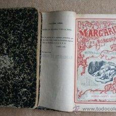 Libros antiguos: MARGARITA DE BORGOÑA. (MISTERIOS DE LA TORRE DE NESLE). LUNA (RAMÓN R.). Lote 33891613