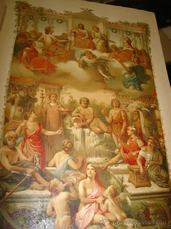 Libros antiguos: LOS DIOSES DE GRECIA Y ROMA, MITOLOGÍA GRECO-ROMANA, VÍCTOR GEBHARDT, 2 TMS, BCN, ESPASA Y CÍA, 1880 - Foto 29 - 33913933
