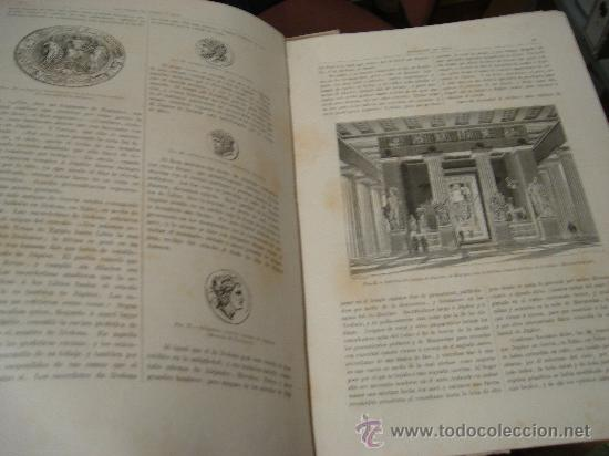 Libros antiguos: LOS DIOSES DE GRECIA Y ROMA, MITOLOGÍA GRECO-ROMANA, VÍCTOR GEBHARDT, 2 TMS, BCN, ESPASA Y CÍA, 1880 - Foto 26 - 33913933