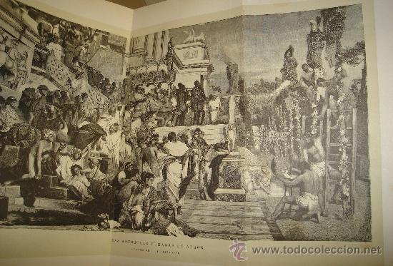 Libros antiguos: LOS DIOSES DE GRECIA Y ROMA, MITOLOGÍA GRECO-ROMANA, VÍCTOR GEBHARDT, 2 TMS, BCN, ESPASA Y CÍA, 1880 - Foto 11 - 33913933
