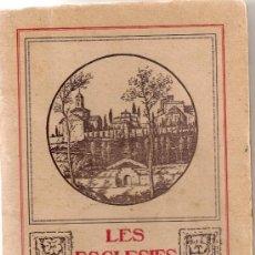 Libri antichi: LES ESGLESIES ROMANIQUES DE TERRASSA. TERRASSA, 1929. 19X13CM. 43 P. + 39 LAM.. Lote 33968853