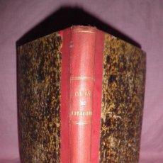 Livros antigos: GUIA DEL ANTIGUO REINO DE CATALUÑA - E.VALVERDE Y ALVAREZ - AÑO 1887·ILUSTRADO.. Lote 33971938