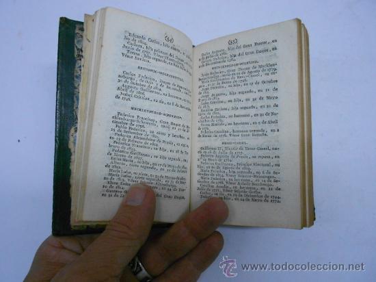 Libros antiguos: CALENDARIO MANUAL Y GUIA FORASTEROS DE MADRID AÑO 1835/ ESTADO MILITAR DE ESPAÑA.1835. imprenta real - Foto 4 - 33978925