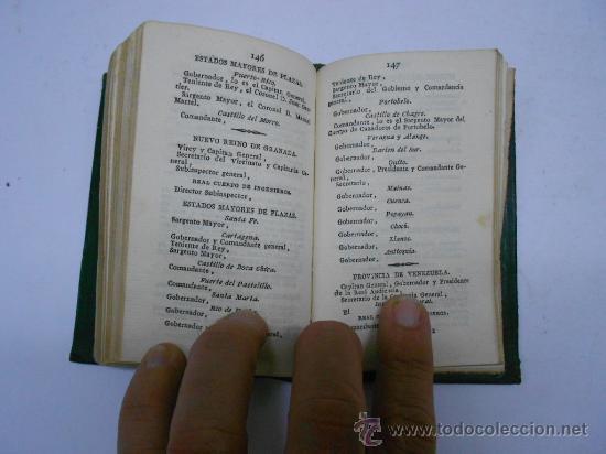 Libros antiguos: CALENDARIO MANUAL Y GUIA FORASTEROS DE MADRID AÑO 1835/ ESTADO MILITAR DE ESPAÑA.1835. imprenta real - Foto 5 - 33978925