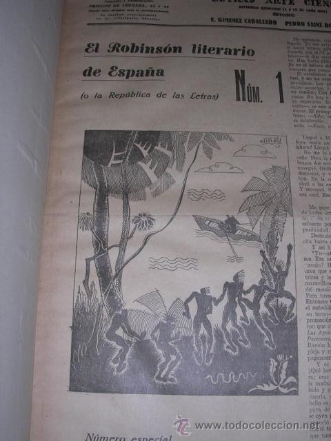 Libros antiguos: GENERACION DEL 27 REVISTA COMPLETA EL ROBINSON LITERARIO DE ESPAÑA (O LA REPUBLICA DE LAS LETRAS ) - Foto 2 - 33994062