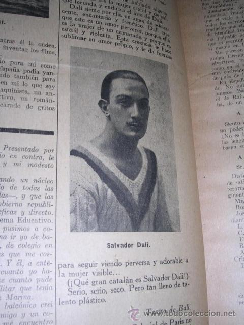 Libros antiguos: GENERACION DEL 27 REVISTA COMPLETA EL ROBINSON LITERARIO DE ESPAÑA (O LA REPUBLICA DE LAS LETRAS ) - Foto 5 - 33994062