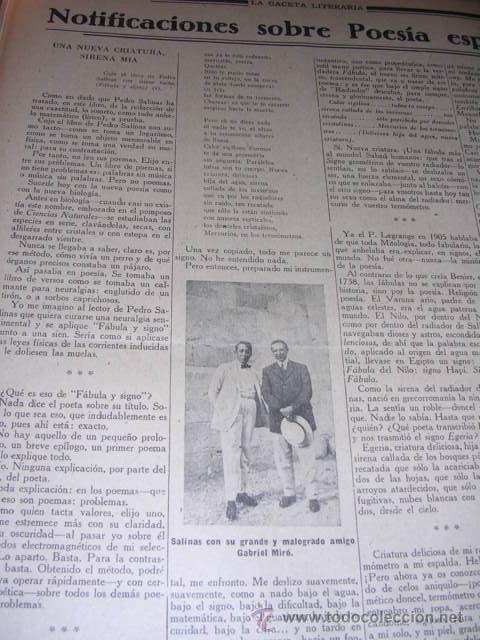 Libros antiguos: GENERACION DEL 27 REVISTA COMPLETA EL ROBINSON LITERARIO DE ESPAÑA (O LA REPUBLICA DE LAS LETRAS ) - Foto 7 - 33994062
