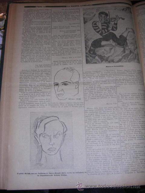 Libros antiguos: GENERACION DEL 27 REVISTA COMPLETA EL ROBINSON LITERARIO DE ESPAÑA (O LA REPUBLICA DE LAS LETRAS ) - Foto 12 - 33994062