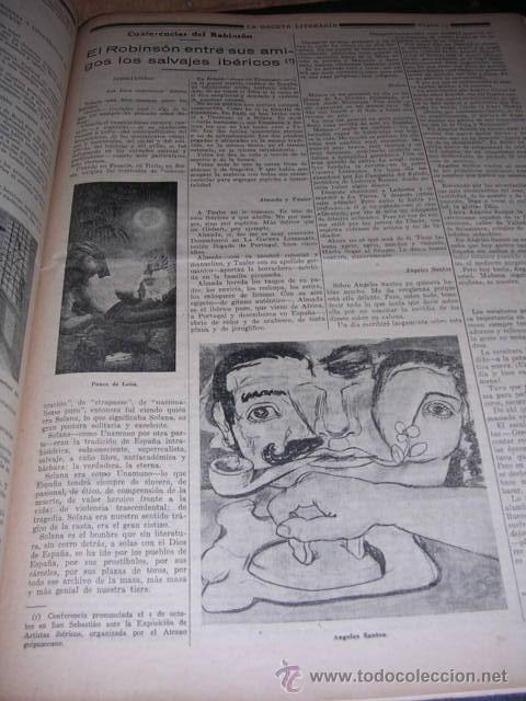 Libros antiguos: GENERACION DEL 27 REVISTA COMPLETA EL ROBINSON LITERARIO DE ESPAÑA (O LA REPUBLICA DE LAS LETRAS ) - Foto 15 - 33994062