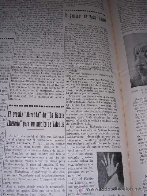 Libros antiguos: GENERACION DEL 27 REVISTA COMPLETA EL ROBINSON LITERARIO DE ESPAÑA (O LA REPUBLICA DE LAS LETRAS ) - Foto 20 - 33994062