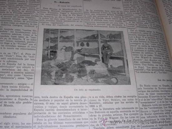 Libros antiguos: GENERACION DEL 27 REVISTA COMPLETA EL ROBINSON LITERARIO DE ESPAÑA (O LA REPUBLICA DE LAS LETRAS ) - Foto 21 - 33994062