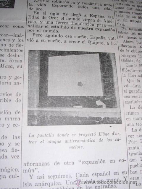 Libros antiguos: GENERACION DEL 27 REVISTA COMPLETA EL ROBINSON LITERARIO DE ESPAÑA (O LA REPUBLICA DE LAS LETRAS ) - Foto 22 - 33994062