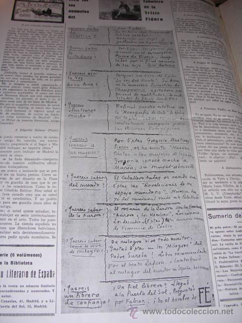Libros antiguos: GENERACION DEL 27 REVISTA COMPLETA EL ROBINSON LITERARIO DE ESPAÑA (O LA REPUBLICA DE LAS LETRAS ) - Foto 23 - 33994062