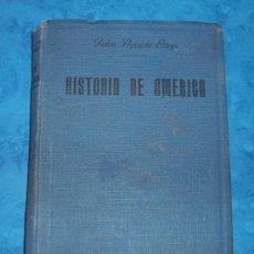 Libros antiguos: PEDRO AGUADO BLEYE. MANUAL DE HISTORIA DE AMÉRICA. BILBAO ED. 1927. Lote 103158004