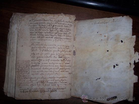 Libro contable villa de mallen siglo xvii comprar en - Libros antiguos valor ...
