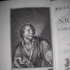 Libros antiguos: RICCIARDETTO, DE NICCOLÒ CARTEROMACO, TOMO I, 1766. CONTIENE 16 GRABADOS.. Lote 34151426