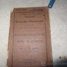 Libros antiguos: ENGHISH GRAMAR, 1933 MUÑOZ LORENZO. Lote 34204266