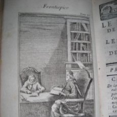 Libros antiguos: LE BACHELIER DE SALAMANQUE, 1767, ALAIN RENE LE SAGE. CONTIENE 4 GRABADOS. Lote 34344927