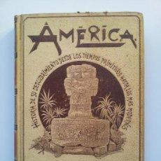 Libros antiguos: AMÉRICA. HISTORIA DE SU DESCUBRIMIENTO. TOMO II (DE 3). RODOLFO CRONAU. MONTANER Y SIMÓN. 1892. Lote 34241108