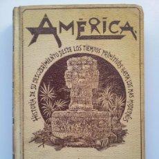 Libros antiguos: AMÉRICA. HISTORIA DE SU DESCUBRIMIENTO. TOMO III (DE 3). RODOLFO CRONAU. MONTANER Y SIMÓN. 1892. Lote 34241130