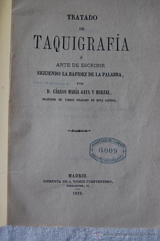 Libros antiguos: TRATADO DE TAQUIGRAFIA O EL ARTE DE ESCRIBIR SIGUIENDO LA RAPIDEZ DE LA PALABRA - Foto 2 - 34246996