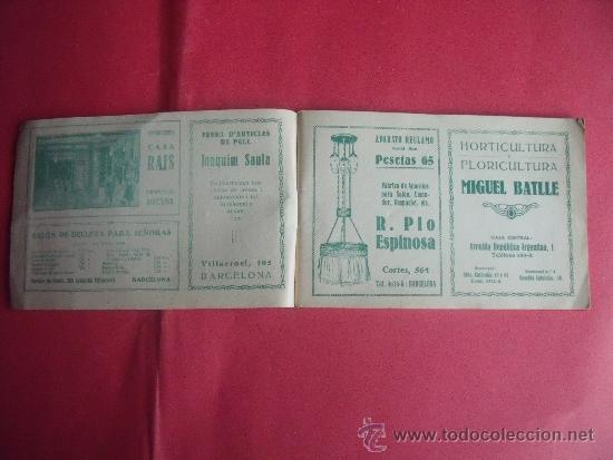 Libros antiguos: PROGRAMA FESTES D'ISTIU 1926.-VILLARROEL. - Foto 3 - 34266702