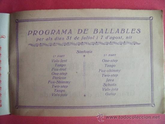 Libros antiguos: PROGRAMA FESTES D'ISTIU 1926.-VILLARROEL. - Foto 4 - 34266702