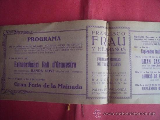 Libros antiguos: PROGRAMA FESTES D'ISTIU 1926.-VILLARROEL. - Foto 5 - 34266702