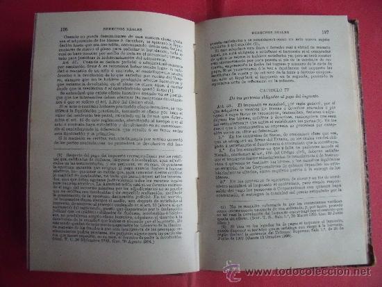 Libros antiguos: ABELLA.-MANUAL DEL IMPUESTO DE DERECHOS REALES.-EL CONSULTOR DE LOS AYUNTAMIENTOS.-AÑO 1921. - Foto 4 - 34267223