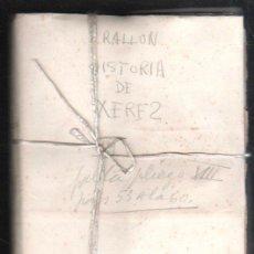 Libros antiguos: HISTORIA DE XEREZ DE LA FRONTERA POR EL PADRE FRAY ESTEBAN RALLON - TOMO III. LEER. Lote 34287711