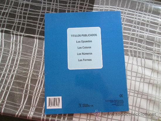 Libros antiguos: LIBRO EDUCATIVO CON PEGATINAS, LOS COLORES EDICIONES SALDAÑA - Foto 2 - 34337937