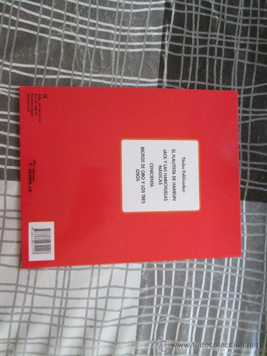 Libros antiguos: JACK Y LAS HABICHUELAS MÁGICAS, LIBRO AUTOADHESIVO EDICIONES SALDAÑA - Foto 2 - 34338010