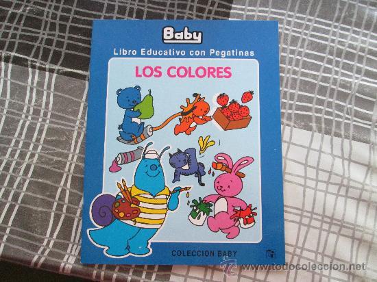 LIBRO EDUCATIVO CON PEGATINAS, LOS COLORES EDICIONES SALDAÑA (Libros Antiguos, Raros y Curiosos - Literatura Infantil y Juvenil - Otros)
