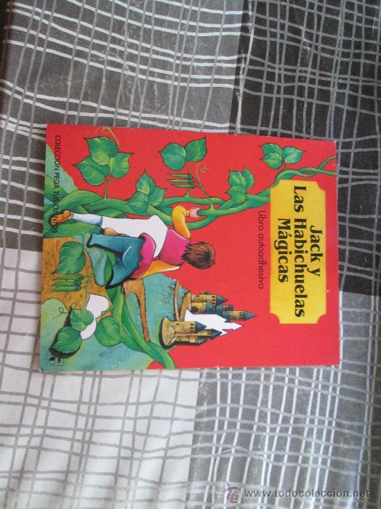 JACK Y LAS HABICHUELAS MÁGICAS, LIBRO AUTOADHESIVO EDICIONES SALDAÑA (Libros Antiguos, Raros y Curiosos - Literatura Infantil y Juvenil - Otros)