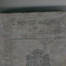 Libros antiguos: LIBRITO.LIBRO PEQUEÑO.ED.,CALLEJA.EXPROPIACION FORZOSA. LEY DE 1879.. Lote 34363475