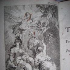 Libros antiguos: LES AVENTURES DE TELEMAQUE FILS D´ULISSE, FENELÓN, TOMO I, 1775. CONTIENE 1 FRONTISPICIO Y 10 GRABAD. Lote 34368089