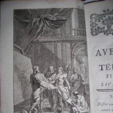 Libros antiguos: LES AVENTURES DE TELEMAQUE FILS D´ULISSE, FENELON, TOMO II, 1775. CONTIENE 11 GRABADOS Y 1 DESPLEGAB. Lote 34368111