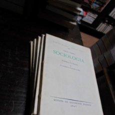 Libros antiguos: REVISTA DE OCCIDENTE, JORGE SIMMEL, SOCIOLOGIA TOMOS 1,2,3,Y 4, AÑO 1927. TOMO 5 : F.R. NOLKE, . Lote 34370231