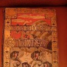 Libros antiguos: GEOGRAFIA GENERAL DE CATALUNYA. CARRERAS CANDI. VOLUMEN PROVINCIA DE BARCELONA. Lote 34376135