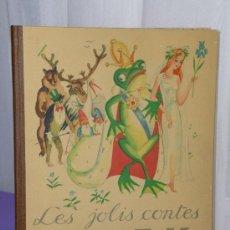 Libros antiguos: LES JOLIS CONTES N. P. C. K. (CUENTOS EN FRANCÉS ILUSTRADOS CON CROMOS,1932). Lote 34392497