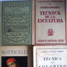 Libros antiguos: LOTE 4 LIBROS ANTIGUOS- ARTE . Lote 34427811