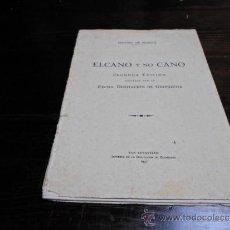 Libros antiguos: SERAPIO MUGICA, ELCANO Y NO CANO, 2 ED. SAN SEBASTIAN, 1931. Lote 34433715