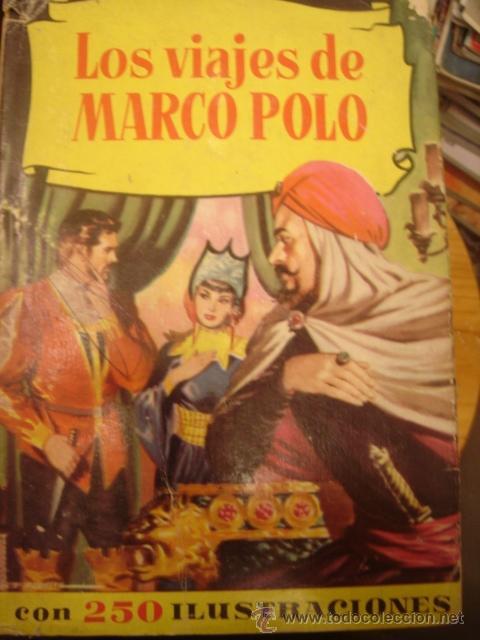 LOS VIAJES DE MARCO POLO . EDITORIAL BRUGUERA (Libros Antiguos, Raros y Curiosos - Literatura Infantil y Juvenil - Otros)