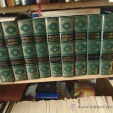 Libros antiguos: 10 TOMOS LA HISTORIA DE ESPAÑA CLUB INTERNACIONAL DEL LIBRO COMPLETA.. Lote 34467197