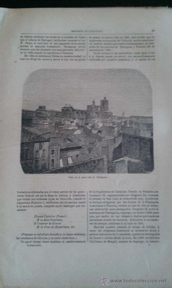 Libros antiguos: 1870. CRONICA DE LA PROVINCIA DE TARRAGONA FERNANDO FULGOSIO. 96 PÁG - Foto 2 - 34501370